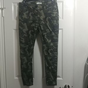 Camoflauge jeans